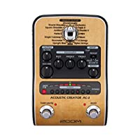 Zoom AC-2 Acoustic Guitar Effect Pedal (Brown) 21