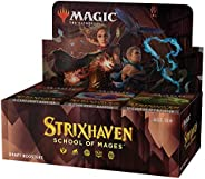 Magic The Gathering Strixhaven Draft Booster Box | 36 Packs (540 Magic Cards)