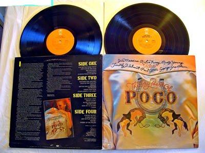 Poco Double LP The Very Best Of Poco - Epic Records 1975 -