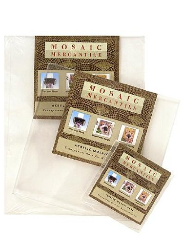 Mosaic Mercantile Acrylic, Clear Base, 8.5-Inch by 11-Inch ()