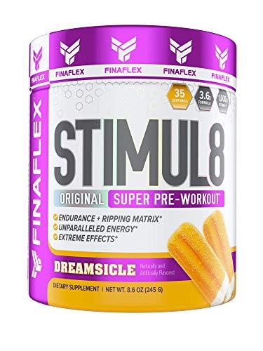 Stimul8, Original Super Pre-Workout with Vitamin C (35 Serving, Orange Dreamsicle)