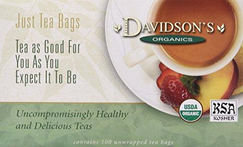 Davidson's Tea Raspberry Cream Caramel Dessert, 100-Count Tea Bags