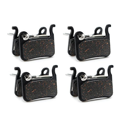 Road Passion Bike Brake Pad for Shimano Disc Brake M505 M535 M545 M585 M595 M596 M601 M665 M765 M775 M776 M800 M965 M966 M975 BR-T665 Alfine A500 BRS505 BRS501 BRS500 Hone M601 Bicycle