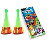 Water Balloon Set~370 Balloons~Self-Sealing~ Quick Fill in 60 Seconds~Great for Summer~BBQ~Birthday Parties~Family Reunion~Outdoors Activities~Fun for Kids~Teens~Adults (10 Pack - 740 Balloons)