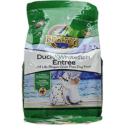 Natural Planet Organics Grain Free Duck & Whitefish - 5Lb