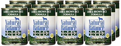 Natural Balance Lamb & Rice Formula Dog Food, 13 oz, Pack of 12 by Natural Balance (Image #1)