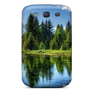 First-class Case Cover For Galaxy S3 Dual Protection Cover Pineforest