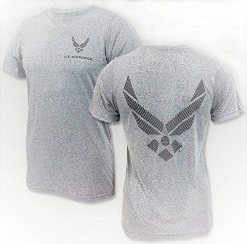 DSCP U. S. Air Force PTU Athletic T-Shirt Reflective Insignia ()