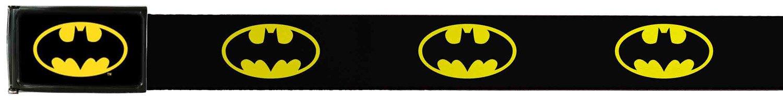 Batman DC Comics Superhero Classic Shield logo Web Belt Buckle Down