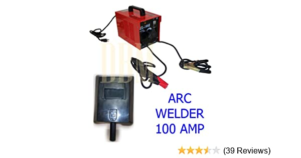 100 AMP ARC Welder Welding Soldering Machine Rod 110 Volt AC - Mig Welding Equipment - Amazon.com