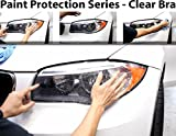 CloudWorks Headlight Perfect Fit PreCut Sheets Paint Protection Clear Bra Film Kit for 2009-2011 Jaguar XF