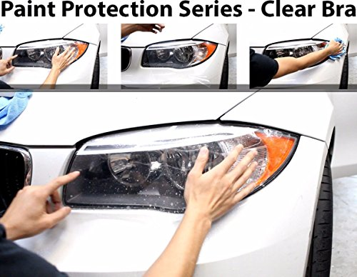 CloudWorks Headlight Perfect Fit PreCut Sheets Paint Protection Clear Bra Film Kit for 2007-2011 Jaguar XK by CloudWorks