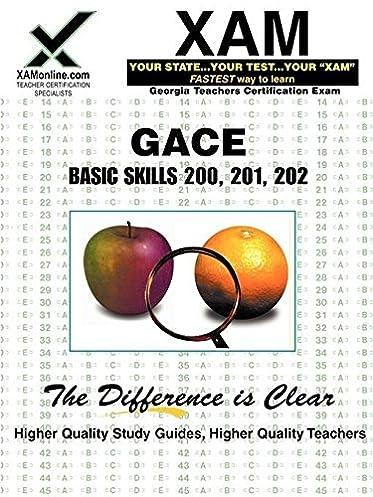 amazon com gace basic skills 200 201 202 9781581975338 sharon rh amazon com gace basic skills study guide pdf Basic Map Skills Worksheets