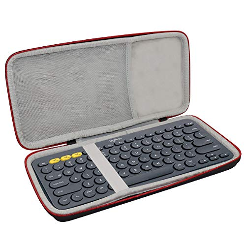 Asafez Hard Case for Logitech K380 / K810 / K811 Multi-Device Bluetooth Keyboard