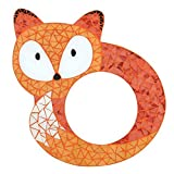 Something Different Mosaic Fox Mirror (One Size) (Orange)