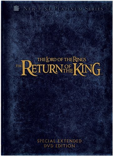 The return of the king extended edition 5-disc set blu-ray.