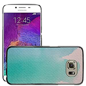 Hot Style Cell Phone PC Hard Case Cover // M00152957 Watercolour Painting Technique // Samsung Galaxy S6 (Not Fits S6 EDGE)