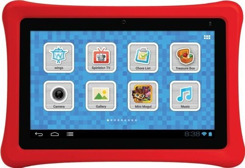 NABI NBTY07SMKG 7 Kids Tablet- Black/Red for sale  Delivered anywhere in USA