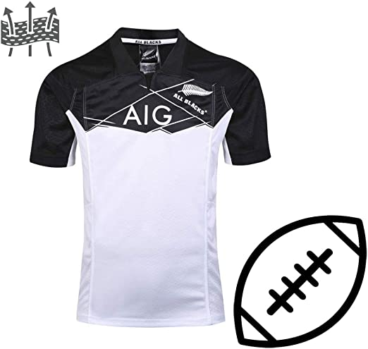 FJXJLKQS All Black Rugby Jersey Training Rugby Scottish Family ...