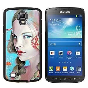 Caucho caso de Shell duro de la cubierta de accesorios de protección BY RAYDREAMMM - Samsung Galaxy S4 Active i9295 - Sexy Girls Pintura