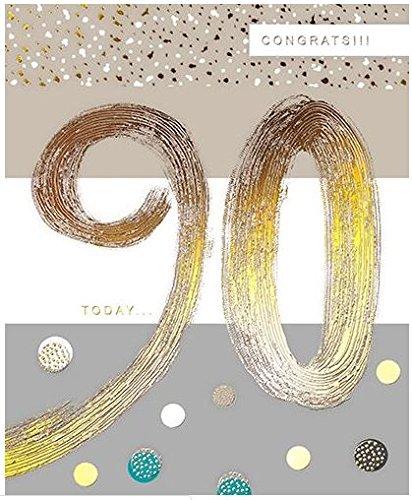 Tarjeta de 90 cumpleaños (GBCC-JOIJ0060) - 90 hoy - de la ...