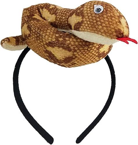 FENICAL Diadema de Serpiente Fiesta de Terror Tocado de Serpiente ...