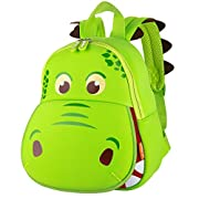 yisibo Kinder Rucksäcke Kindergarten Vorschule Kleinkind Jungen/Mädchen Rucksack 3D Tier Tasche Schultaschen Rucksack…