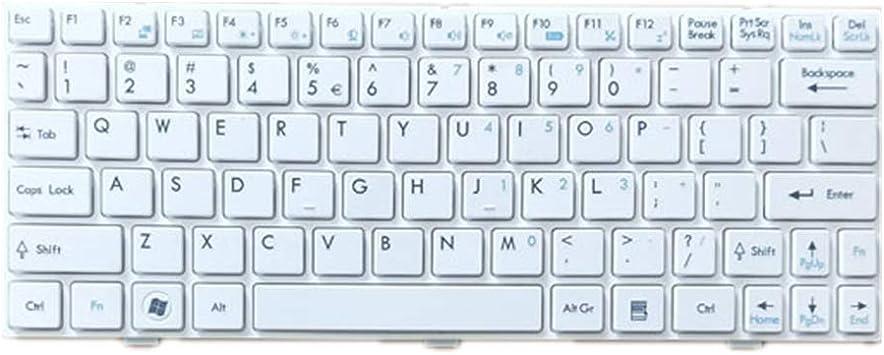 Teclado del Ordenador portátil para For MSI U90 U100 U100X ...