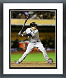 """Todd Frazier Chicago White Sox MLB Action Photo (Size: 12.5"""" x 15.5"""") Framed"""