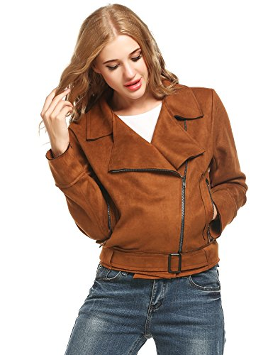 Brown Suede Jacket - 3