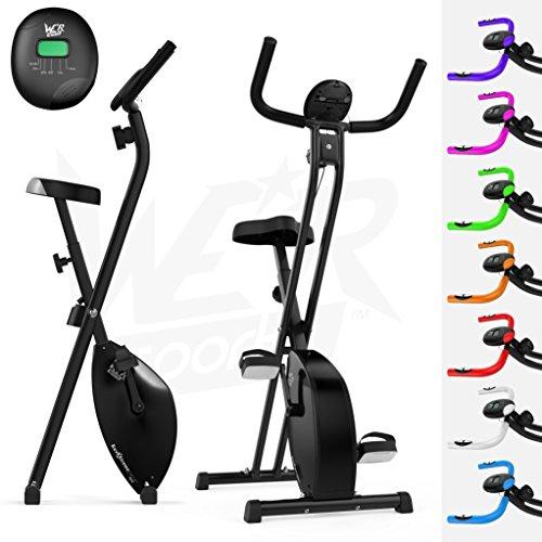 Folding Magnetic Exercise Bike X Bike Fitness Cardio Workout