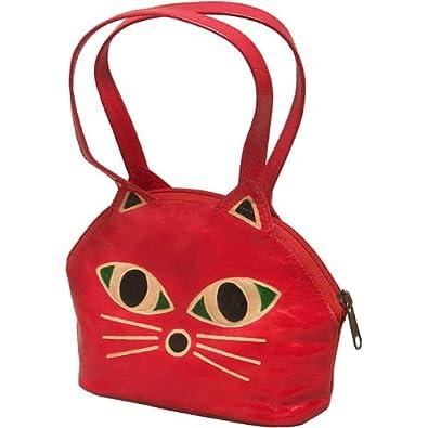 Amazon.com: Cara de gato bolso Sassy Cat cartera: Shoes