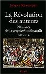 La Révolution des auteurs par Boncompain