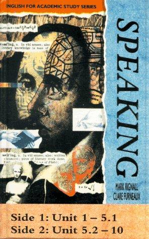 Speaking, 1 Cassette zum Student's Book Hörkassette – 1. Januar 1996 Mark Rignall Clare Furneaux Hueber 3190226105
