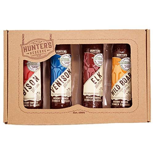 Hunter's Reserve Deadwood Shooter Summer Sausage Variety Pack