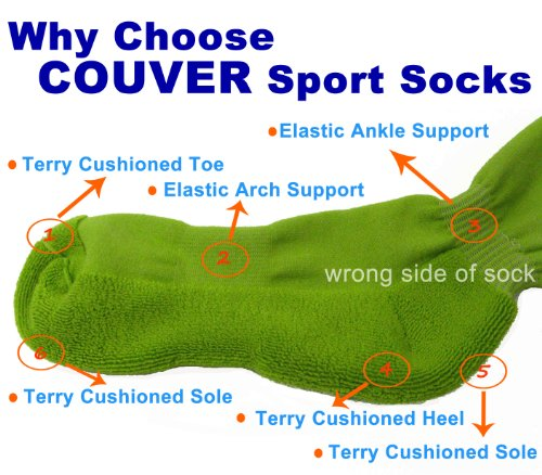 Couver Youth/Kids Knee High Sports Athletic Baseball Softball Socks