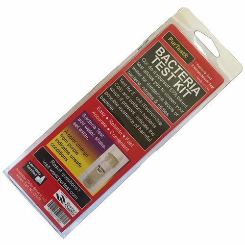 AFWFilters TST-BACT PurTest Bacteria Water Test Kit With Bacteria, Nitrate, Nitrite Tests