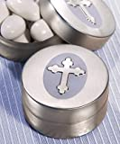 Silver Cross Design Mint Tin, 120 by FashionCraft