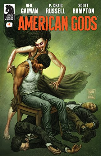 Image result for american gods comic