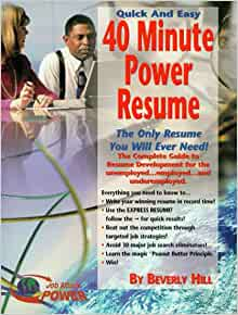 40 minute power resume
