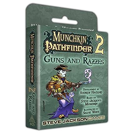 Munchkin Pathfinder 2 Guns and Razzes - English: Amazon.es ...