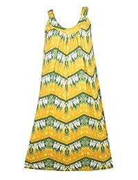 Plus Size Green Print Tie Dye Maxi Dress