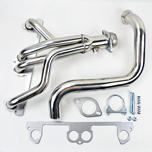 Jeep Wrangler Header Pipe (Jeep Wrangler TJ 1997-1999 2.5L L4 Stainless Manifold Header w/ Downpipe)