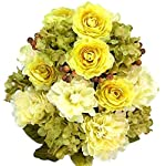 Admired-By-Nature-Artificial-Full-Blooming-Peony-Ranunculus-and-Hydrangea-with-Berries-and-Greenery-Mixed-Bush-24-Stems-for-Home-Wedding-Restaurant-and-Office-Decoration-Arrangement-Guava