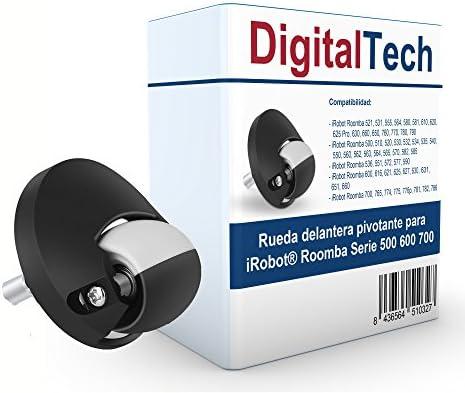DigitalTech® - Rueda Delantera pivotante Compatible para iRobot ...