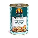 Weruva Classic Dog Food, Funky Chunky Chicken Soup with Chicken Breast & Pumpkin in Gravy, 14oz Can (Pack of 12)