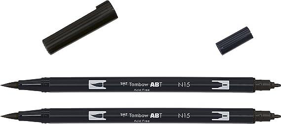 Bolígrafo con dos puntas ABT Dual Brush Fibre-Tip de la marca ...