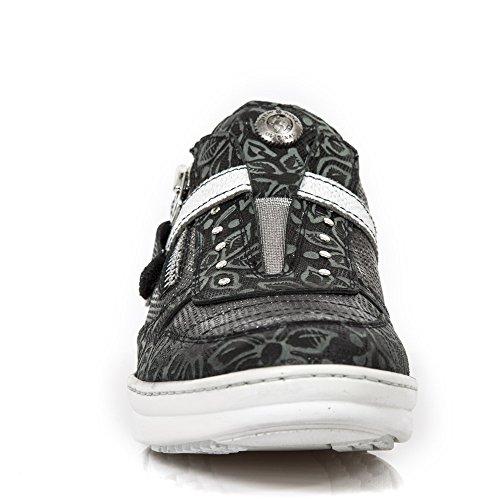 New Rock M Hy031 S6, Men's Low-Top Sneakers Black (Noir)
