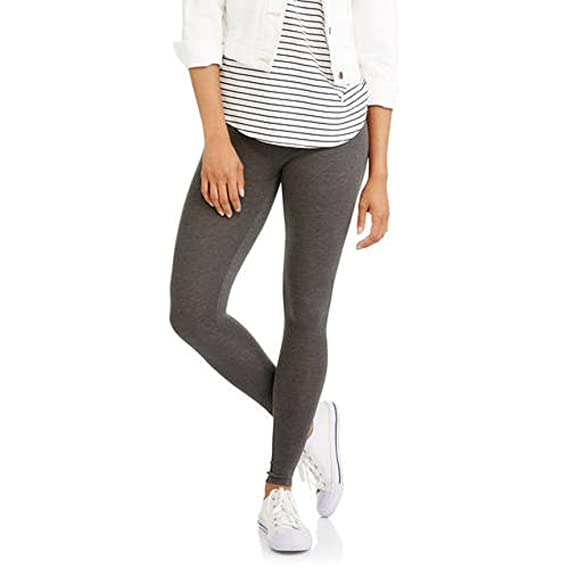 226f2a43d2185 Faded Glory Women's Essential Leggings (M, Heather Grey): Amazon.in ...
