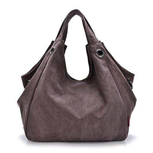JOYSKY HB440061C4 Spring Canvas Tide Cool Demeanor Women's Handbag,Dumplings Type Crescent - Bag Purple Dior